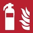 Fire extinguisher sign ISO 7010