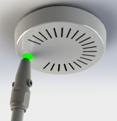 The test sticker Avux for smoke detector